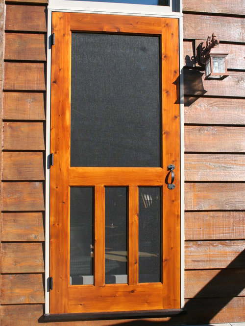 Sceen Door Amp Chesapeake Series Reversible Wood Screen Door