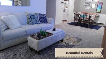Apartment Upgrade- Warm Scandinavian-Shabby-Chic