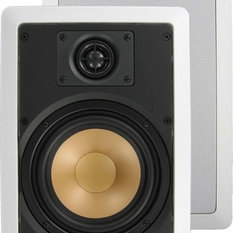 """M65.1W InwallTechâ""""¢ 6 1/2 Virtually Invisible Aluminum Wall Speakers by InwallTech"""