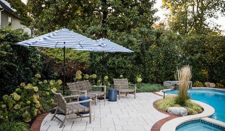 Yard of the Week: Elegant Poolside Retreat and Front Yard Lounge