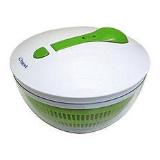 Ozeri Swiss Designed FRESHSPIN Salad Spinner and Serving Bowl, BPA-Free