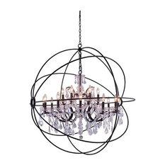 "Urban Classic 1130 Geneva 18-LT 43.5"" Royal Pendant, Bronze/Clear"