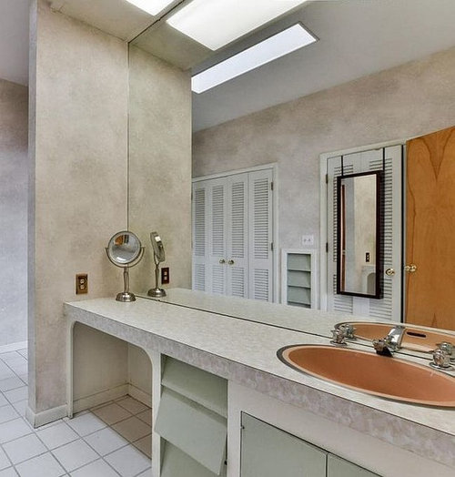 Should I Install A Bathroom Mirror Extending Down To The Countertop
