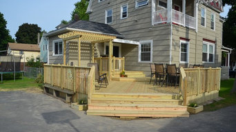 New Pressure Treated Decks