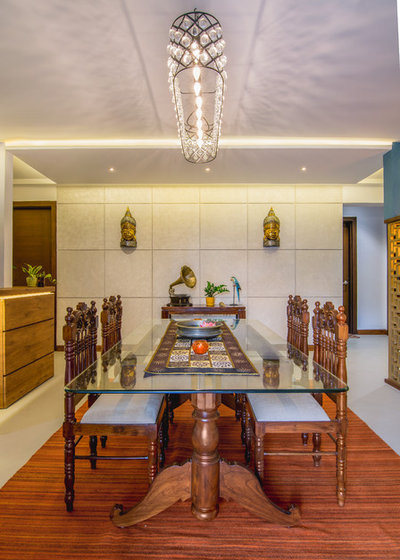 Indian Dining Room by studio TAB