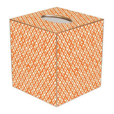 TB2447 - Berkely Orange Tissue Box Cover