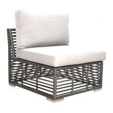 Panama Jack Graphite Modular Armless Chair