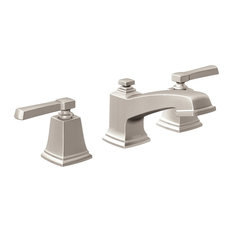 Superbe Moen   Moen Boardwalk 2 Handle Bathroom Faucet, Spot Resist Brushed Nickel    Bathroom