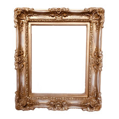 "20""x24"" Distressed Shabby Chic Frames, Baroque Frame, Frame for Canvas"