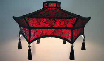 Oriental replacement lamp shade