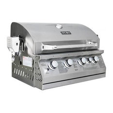 Duro - Stainless Steel Built, 'Gas Grill With Rotisserie Kit - Outdoor Grills
