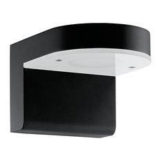 Jalon 2 Light Outdoor Wall Light in Black