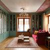 Проект недели: Пряничная гостиная с изразцовым камином
