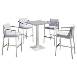 Contemporary Outdoor Pub And Bistro Sets by MangoHome
