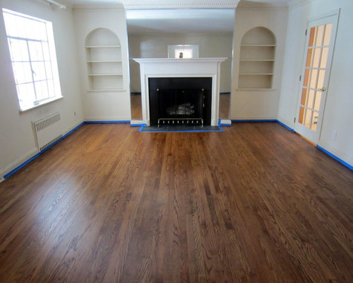 Exceptionnel GARDEN CITY   OLD FLOORS REFINISHED WITH NUTMEG STAIN AND BONA TRAFFIC HD