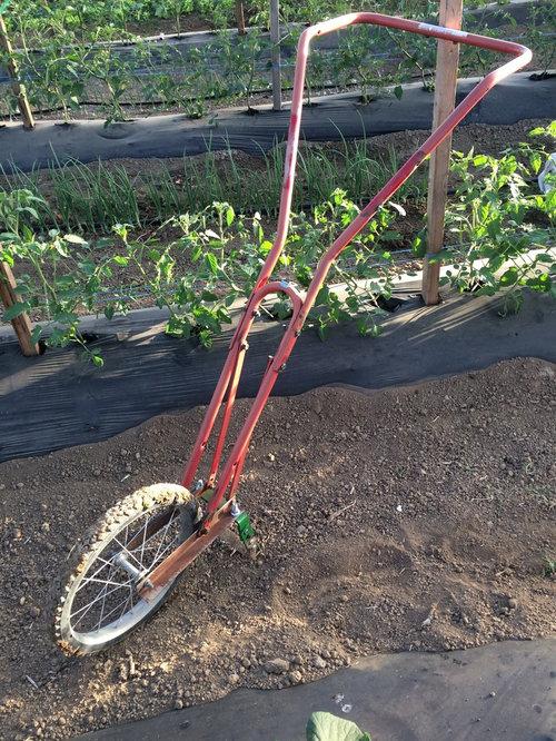 Homemade Hoss Wheel Hoe