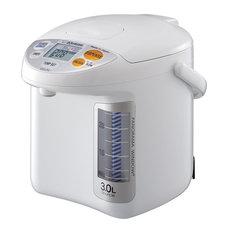Zojirushi - Zojirushi CDLFC30 3L Panorama Window Micom Water Boiler, White - Hot Water Dispensers