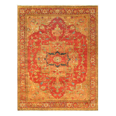 "Pasargad Serapi Collection Hand-Knotted Wool Area Rug- 8' 0"" X 10' 1"""