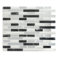 Peel & Impress Oblong Tile, Midnight Marble Dream, 11x9.25, Oblong