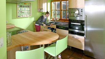 Massivholzküchen modern