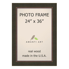 "Picture / Photo Frame 24""x36, Milano Bronze, Outer Size 30""x42"""