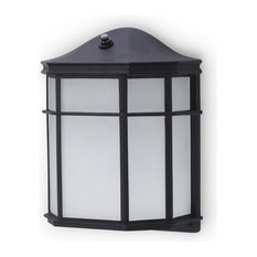 Mississippi Outdoor Wall Sconce With Frosted Glass