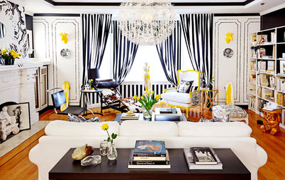 Room of the Day: Parisian Pop Lifts a San Francisco Living Room