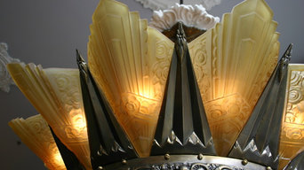 Magnificent Art Deco Chandelier
