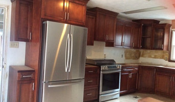 Solid maple Cabinets without counter tops