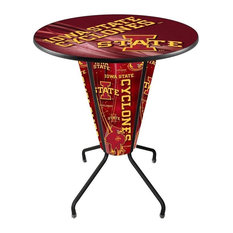 Lighted Iowa State Pub Table by Holland Bar Stool Company