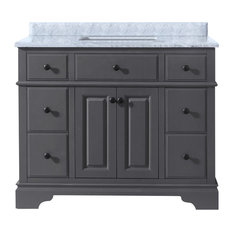 Chela Bathroom Vanity, Maple Gray, 42""
