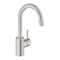 Grohe 31 479 Concetto Pull-Down Spray Kitchen Prep Faucet