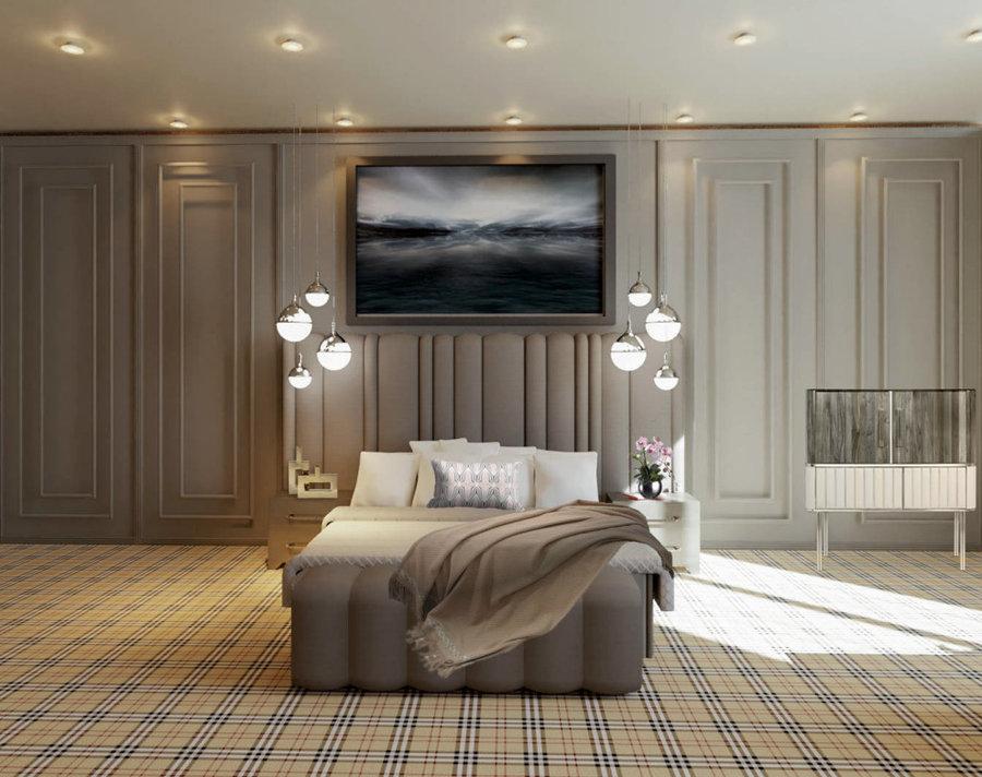 Hotel bedroom 1.