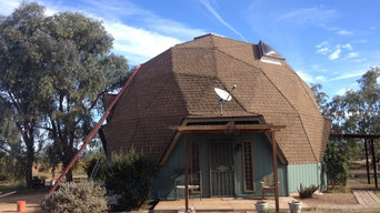 Geodesic Dome, Florence AZ, Completed