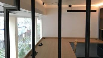 Rénovation de bureaux professionnels à Lyon