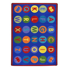 """Library Dots Rug, 5'4""""x7'8"""""""