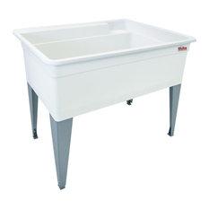 """Mustee BigTub UtilaTub Laundry Tub Combo 17.5""""x38.5""""x34"""""""