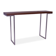 moeu0027s home collection repetir console table walnut console tables