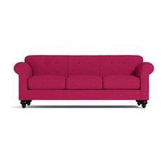 Apt2B   Pico Tufted Back Sofa, Pink Lemonade   Sofas