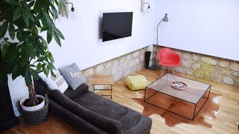Aménagement et décoration d'une extension