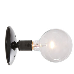 Superb Industrial Wall Sconces Industrial Wall Sconce Light Black