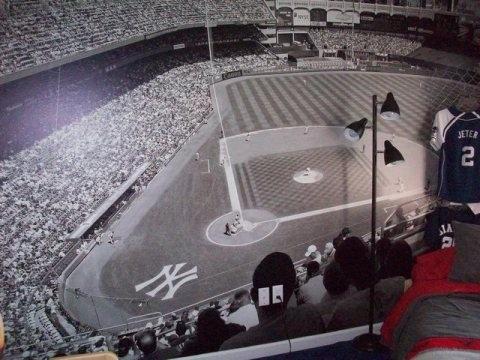 Yankee Stadium Wall Mural Part 4