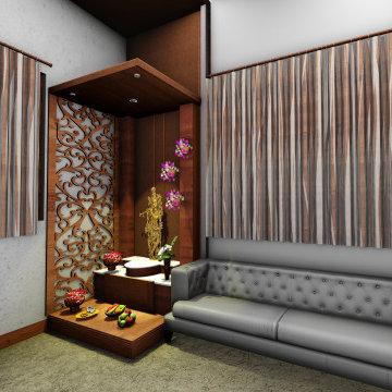 Mr.&Mrs Joshi's Interior Project