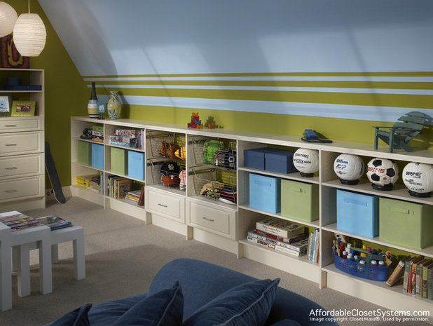 Great Design for Rooms With Sloped Ceilings