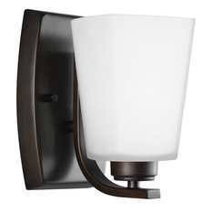 Sea Gull Lighting Waseca One Light Wall/Bath Sconce in Burnt Sienna
