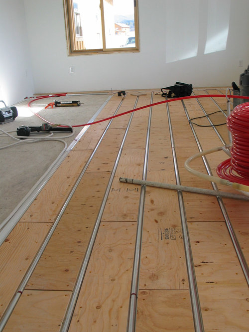 Thermofin U Radiant Heated Floor New Construction