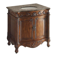 "32"" Traditional-Style Fiesta Antique-Style Bathroom Sink Vanity"