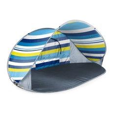 Picnic Time Manta Sun Shelter, Beach Stripes