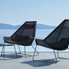 - Breeze Highback Chair by Cane-Line - Outdoor Lounge Chairs