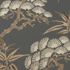 - Tamaki Wallcovering French Grey - Wallpaper